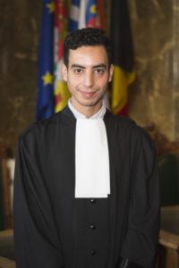 Maître Najim AHRIGA EL BIDAOUI du Barreau de Verviers