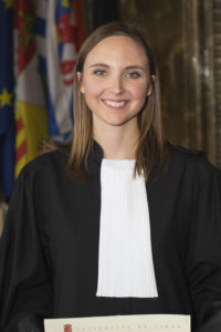 Maître Alexandra PREUD'HOMME du Barreau de Liège